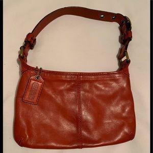 Coach Tattersall Bleeker Hobo leather handbag